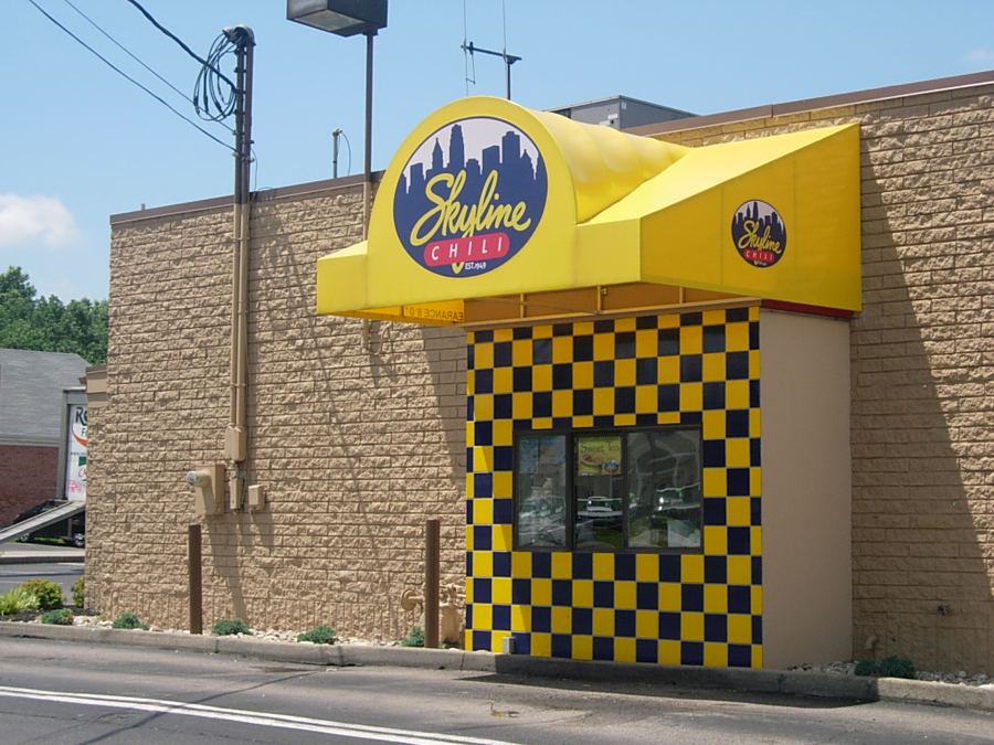 Skyline Chili Graphic Awning
