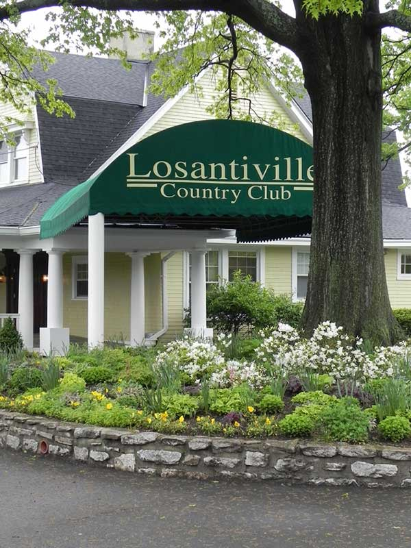 Losantville Country Club Graphic Awning
