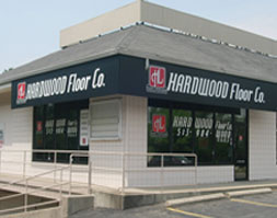 Hardwood Floor Co. Graphic Awning