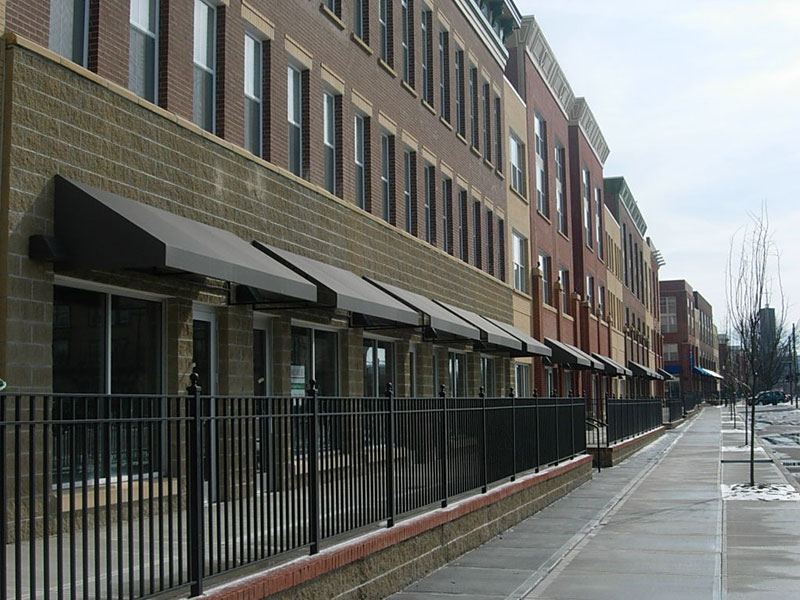 Commercial Awnings By Fabric Form Awnings In Cincinnati