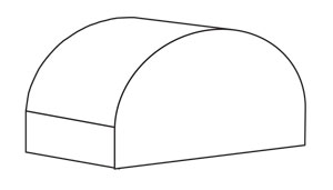 Half-Round Awning Shapes