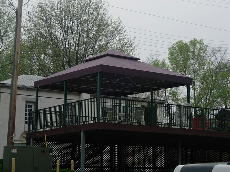 Residential Awnings Fabric Forms Cincinnati Oh